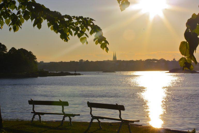 Helsingin parhaat auingonlaskupaikat