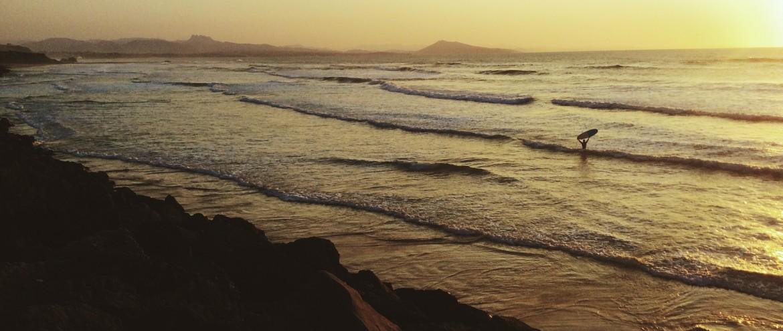 Biarritz matkailuauto roadtrip surffaus