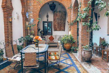 marokko majoitus